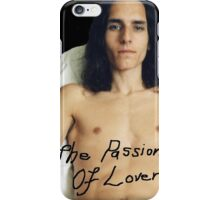 "Black Etched ""The Passion Of Lovers"" Shirtless Male iPhone Case/Skin"