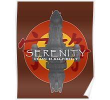 SERENITY - CLASS: 03-K64-FIREFLY Poster