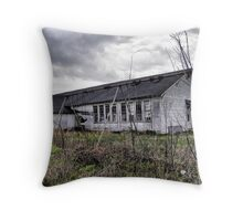 the old schoolyard Throw Pillow