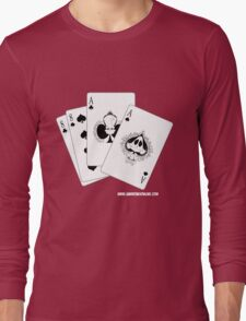 Aces and Eights: Deadman's Hand Long Sleeve T-Shirt