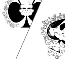 Aces and Eights: Deadman's Hand Sticker