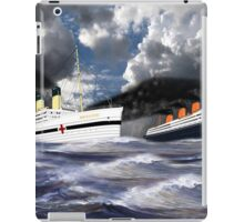 RMS Titanic and her sister the HMHS Britannic iPad Case/Skin