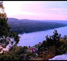 Lake Austin Sunset by Cathy Jones