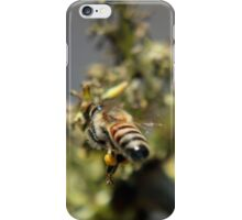 """And this is the """"tail"""" of the story... (Common bee – Apis mellifera) iPhone Case/Skin"""