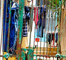 Clothes Line by Galen  Stone