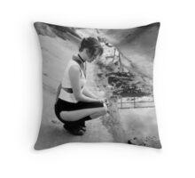 industrial beauty Throw Pillow