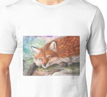 Winter fox Unisex T-Shirt
