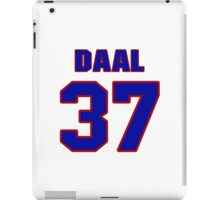 National baseball player Omar Daal jersey 37 iPad Case/Skin