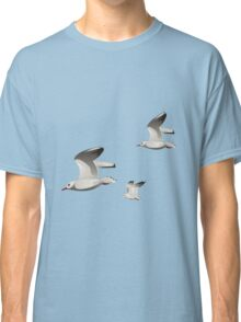 Flying seagulls  Classic T-Shirt