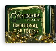 IRISH TOFFEE Canvas Print