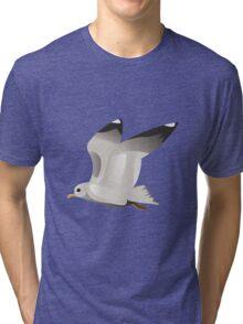 Flying seagull 2 Tri-blend T-Shirt