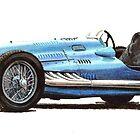 1950 lago Talbot straight six  4482cc  260bhp by PaulReddyoff