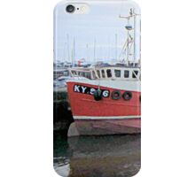 scottish harbor  iPhone Case/Skin