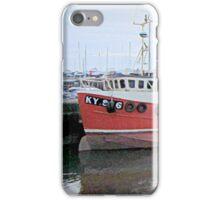 scottish harbor  iPhone Case/Skin