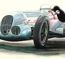 1937 Mercedes Benz W125  5.66litre  646bhp by PaulReddyoff