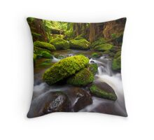 Otways Rainforest Throw Pillow