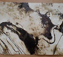 Bitumen Abstract 02 by Dani Louise Sharlot