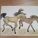 Ponies! by Dani Louise Sharlot