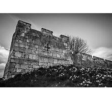 Daffodils and City Walls Photographic Print
