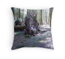 Tree Fellers Throw Pillow