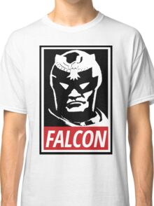 Captain Falcon: Obey Parody Classic T-Shirt