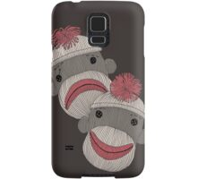 Tragedy and Comedy Sock Monkeys Samsung Galaxy Case/Skin