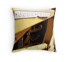 John Deere. Throw Pillow
