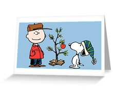Charlie Brown Christmas Greeting Card