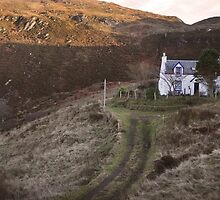 Cottage in Scotland by trulyshannon