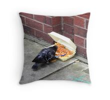 Chips and Beans for Tea Throw Pillow