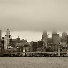 philadelphia skyline by jude walton