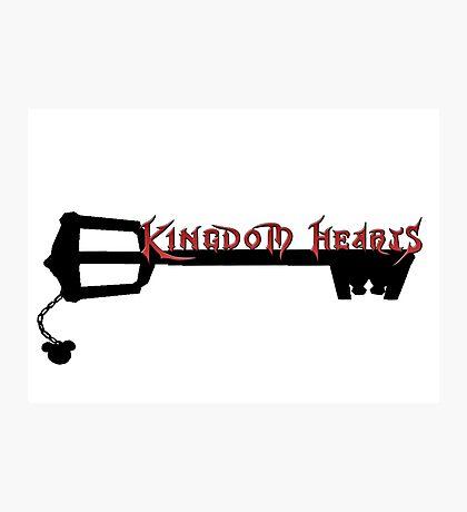 Kingdom Hearts Key Photographic Print