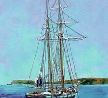 The Tallship Californian by RDRiccoboni