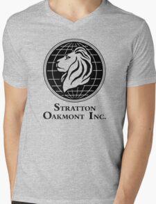 Stratton Oakmont Inc. Mens V-Neck T-Shirt