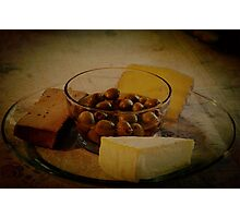 ...and liver pate Photographic Print