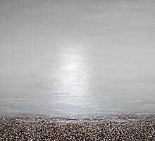 the beach : still life by Martin Rolt