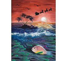 Clownfish Christmas Photographic Print