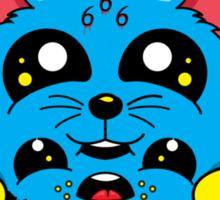 Skate Kitty Sticker