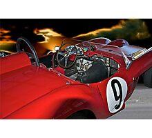 1958 Ferrari 250GT Testa Rossa II 'Driver's Compartment' Photographic Print