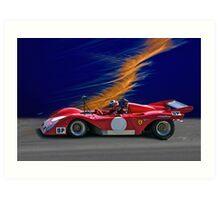 1974 Ferrari 312P V12 Art Print