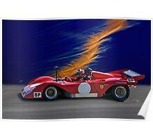 1974 Ferrari 312P V12 Poster