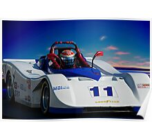 SRF Race Car 'Vintage Can Am' I Poster
