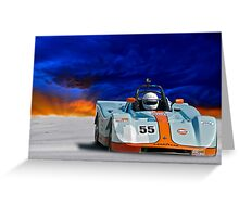 SRF Race Car 'Vintage Can Am' II Greeting Card