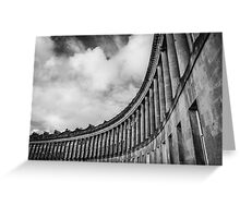 The Royal Crescent of Bath #2 Greeting Card