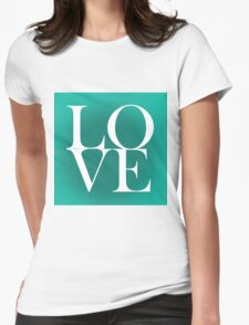 love 4 Womens Fitted T-Shirt