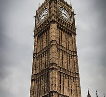 Big Ben on a Stormy London Afternoon by Nicole Petegorsky