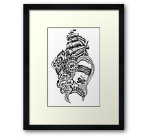 Loose Lips Sink Ships Framed Print