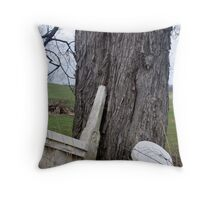 Broken Memories Throw Pillow