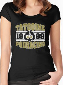Tatooine Podracing Women's Fitted Scoop T-Shirt