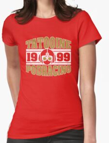 Tatooine Podracing Womens Fitted T-Shirt